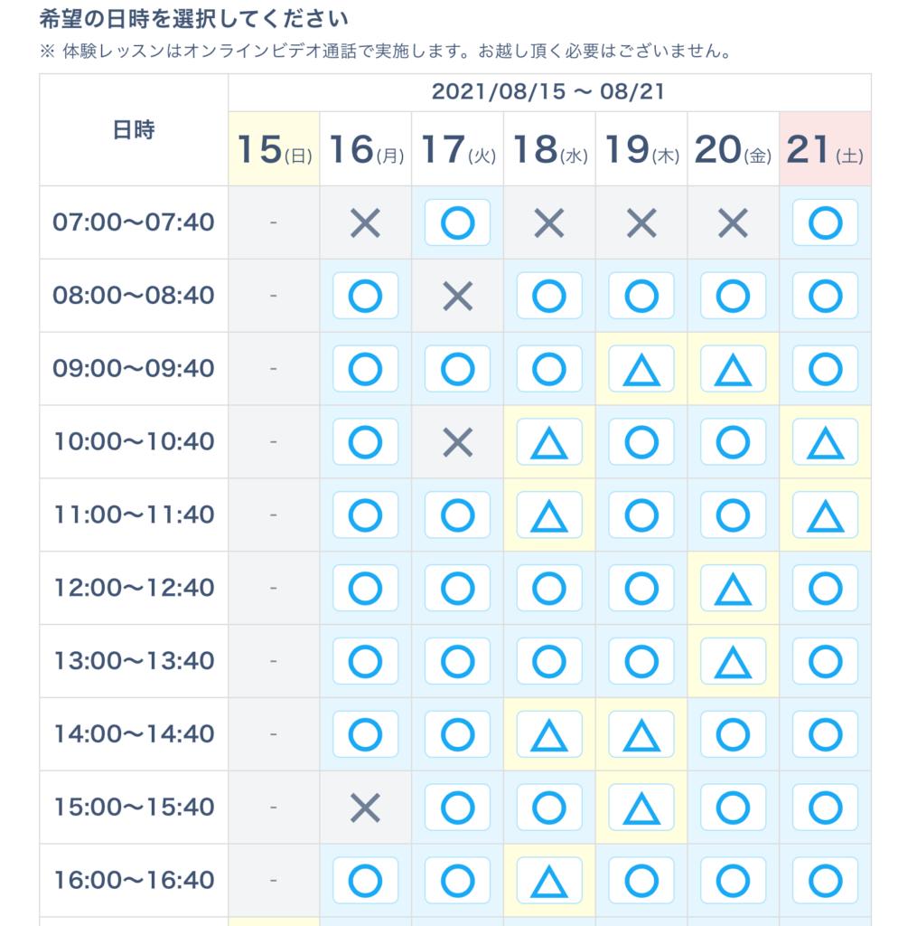 codecampスケジュール